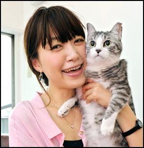 坂本美雨踊るさんま御殿出演!インスタが愛猫のサバ美だらけ!