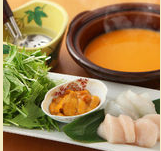 博多中洲うに屋将のおすすめメニュー2雲丹しゃぶスープ
